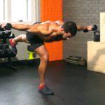 100 лучших упражнений с легкими гантелями на каждый день