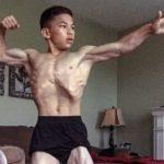 Этому парню 15 лет, и он не пропускает ни одной тренировки