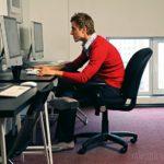 Кресло-качалка 2.0: новый вариант нашей офисной тренировки